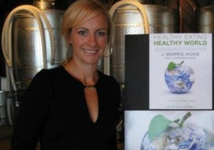 Lisa Hicks, at our 2011 book launch party in Stonington, CT